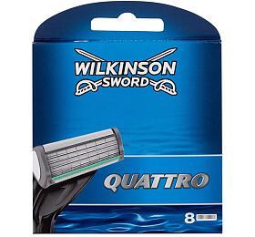 Náhradní břit Wilkinson Sword Quattro, 8 ml - Wilkinson Sword