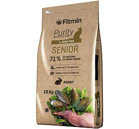 Fitmin cat Purity Senior - 10 kg - FITMIN