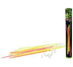 Tyčinky náramky svítící Teddies 20cm 12ks v tubě - Teddies