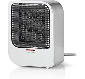 Nedis HTFA12CGY - Ventilátor s keramickým topným tělesem / 750 a 1500 W / Šedá barva - NEDIS
