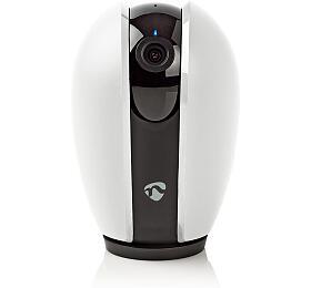 SmartLife Vnitřní Kamera / Wi-Fi / HD 720p / Náklon / Cloud / Micro SD / Noční vidění / Android™ & iOS / Bílá / Šedá - NEDIS