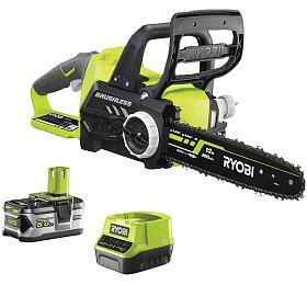 Ryobi RCS18X3050F, aku 18V řetězová pila + baterie 5 Ah + nabíječka ONE+ - Ryobi