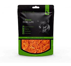 FFL dog & cat treat rabbit jerky 70g Fitmin - FITMIN