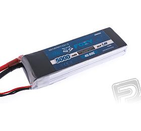 FOXY G3 - Li-Po 5000mAh/7,4V 40/80C 37,0Wh - FOXY