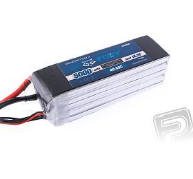 FOXY G3 - Li-Po 5000mAh/18,5V 40/80C 92,5Wh - FOXY