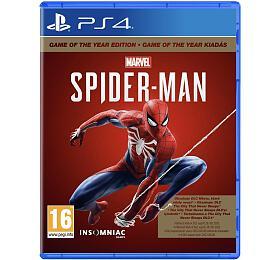 PS4 -Marvel´s Spider-man GOTY (PS719958208) - Sony
