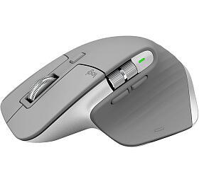 Bezdrátová myš Logitech MX Master 3 Advanced Wireless Mouse - MID GREY - EMEA (910-005695) - Logitech