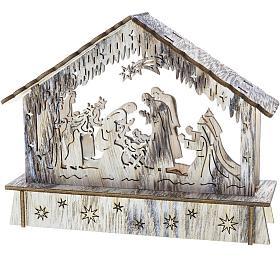 Vánoční osvětlení Retlux RXL 336 betlém dř.6LED WW - Retlux