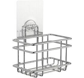 Samolepicí košík do kuchyně Compactor Bestlock Magic systém bez vrtání, chrom - Compactor