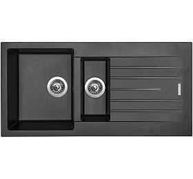 Sinks PERFECTO 1000.1 Metalblack - Sinks
