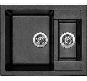 Sinks CRYSTAL 615.1 Metalblack - Sinks