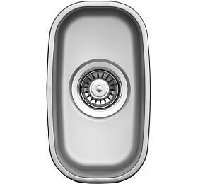 Sinks UNDERMOUNT 195 V 0,6mm matný - Sinks