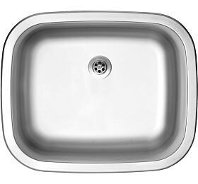 Sinks NEPTUN 526 M 0,6mm matný - Sinks