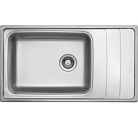 Sinks WAVE 915 V 0,8mm leštěný - Sinks