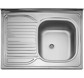 Sinks CLP-D 800 M 0,5mm pravý matný - Sinks
