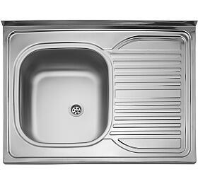 Sinks CLP-D 800 M 0,5mm levý matný - Sinks