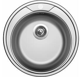 Sinks ROUND 510 V 0,6mm matný - Sinks