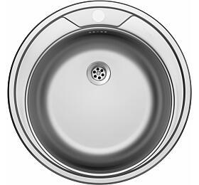 Sinks ROUND 510 M 0,6mm matný - Sinks