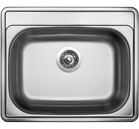 Sinks COMFORT 600 V 0,6mm matný - Sinks