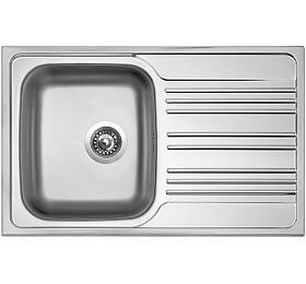 Sinks STAR 780 V 0,6mm matný - Sinks