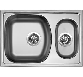 Sinks TWIN 620.1 V 0,6mm matný - Sinks