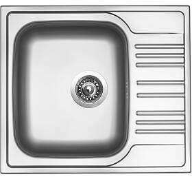 Sinks STAR 580 V 0,6mm matný - Sinks