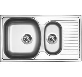 Sinks TWIN 780.1 V 0,6mm matný - Sinks