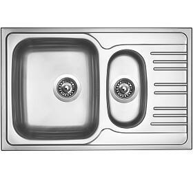 Sinks STAR 780.1 V 0,6mm matný - Sinks