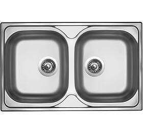 Sinks CLASSIC 800 DUO V 0,6mm matný - Sinks