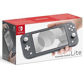 Herní konzole Nintendo Switch Lite Grey (NSH100) - Nintendo
