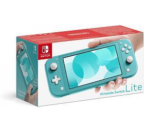 Herní konzole NINTENDO Switch Lite Turquoise (NSH105) - Nintendo