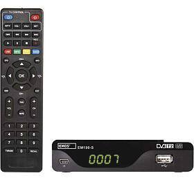 DVB-T2 PŘIJÍMAČ EM 190-S HD (HEVC H265) (2520236400) - Emos