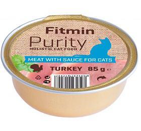 Fitmin cat Purity alutray Turkey - 85 g - FITMIN
