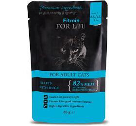 FFL cat pouch adult duck 85g Fitmin - FITMIN