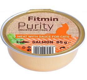 Fitmin cat Purity alutray Salmon - 85 g XY - FITMIN