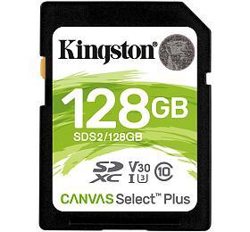 Paměťová karta KINGSTON 128GB SDXC (SDS2/128GB) - Kingston