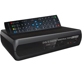 Set-top box New Digital T2 265 HD, DVB-T2, HDMI, SCART, USB, CRA certifikace - NEW DIGITAL