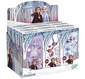 Kreativní sada Ledové království II/Frozen II 3 druhy v krabičce 6x13x3,5cm 12ks v boxu - Lowlands