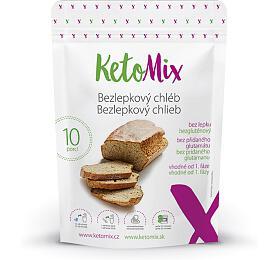KetoMix Proteinový Bezlepkový chléb 300 g (10 porcí) - KetoMix