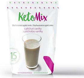 KetoMix příchuť ke koktejlu - vanilka - 45 g - KetoMix