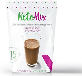 KetoMix příchuť ke koktejlu - káva - 45 g - KetoMix