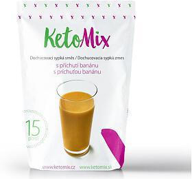 Příchuť ke koktejlu - banán - 45 g - KetoMix