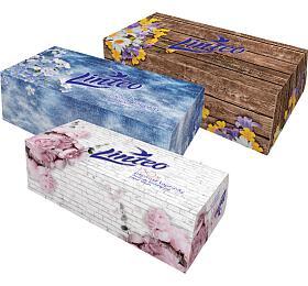Kapesníčky Linteo BOX 150 ks, bílé, 2-vrstvé - Linteo