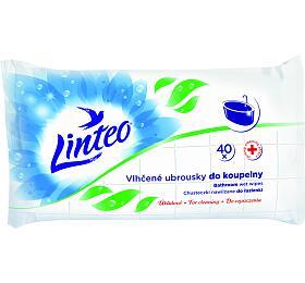 Vlhčené úklidové ubrousky Linteo do koupelny 40ks - Linteo