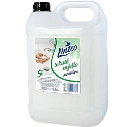 Tekuté mýdlo Linteo Sensitive 5l - bílé - Linteo