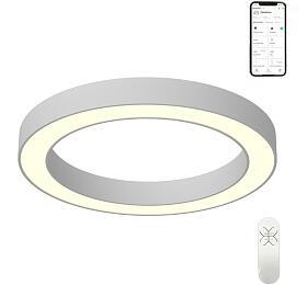 Smart stropní svítidlo Immax NEO PASTEL 07096L Zigbee 3.0 95cm 66W, bílé - IMMAX