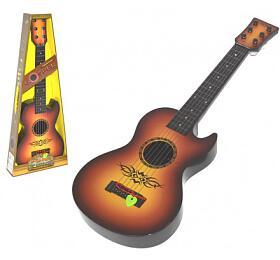 Kytara s trsátkem 59cm plast v krabici 23x59x7cm - Wiky