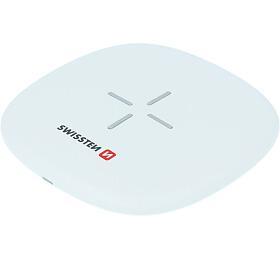 Bezdrátová nabíječka SWISSTEN WIRELESS 10W BÍLÁ (22055501) - Swissten