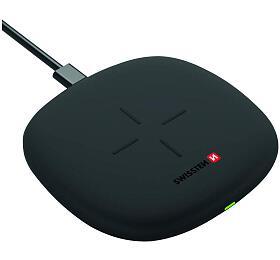SWISSTEN WIRELESS NABÍJEČKA 10W ČERNÁ (22055500) - Swissten