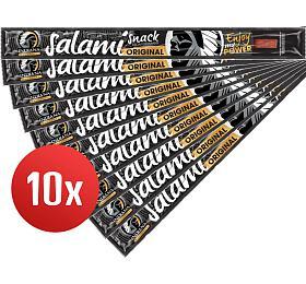 SET 10ks Jerky Salami Snack, 18g - INDIANA s.r.o.